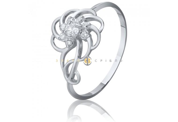 Серебряное кольцо «Фантазия»