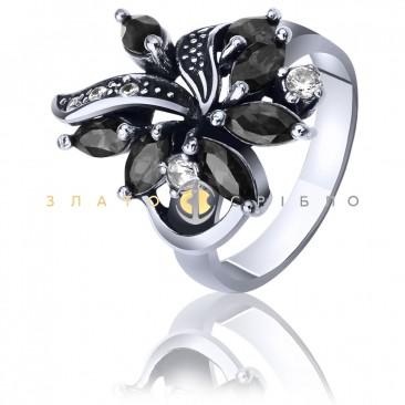 Серебряное кольцо «Мальва»