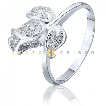 """Серебряное кольцо """"Бутон розы"""""""
