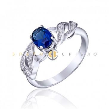 Серебряное кольцо «Магия цвета»