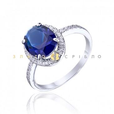 Серебряное кольцо «Fantastic sky»
