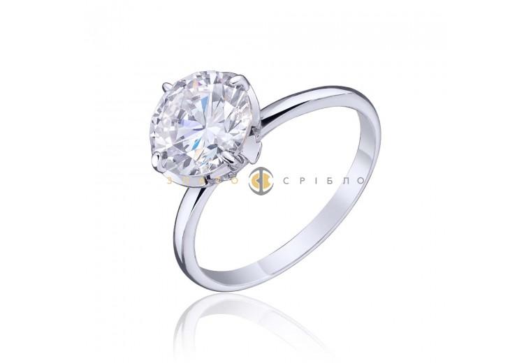 Серебряное кольцо «Глория»