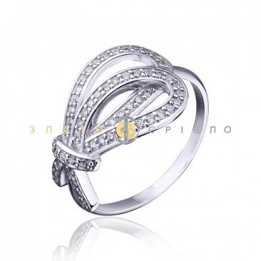 Серебряное кольцо «Узы»