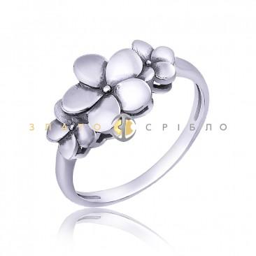 Серебряное кольцо «Летнее настроение»