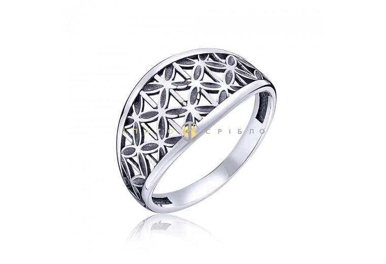Серебряное кольцо «Арабеска»