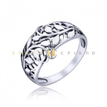 Серебряное кольцо «Весна»