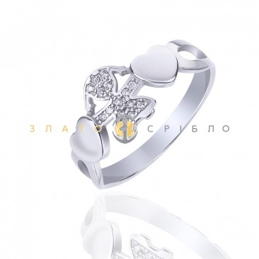 Срібна каблучка «Моя маленька»