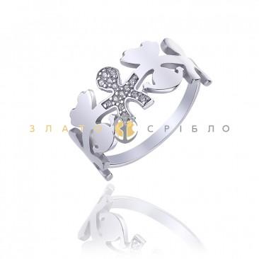 Серебряное кольцо «Сыночек»