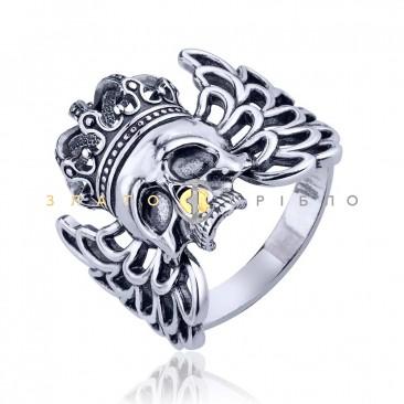 Серебряное  кольцо «Harley-Davidson»