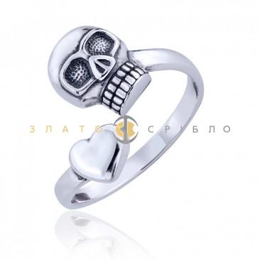 Срібний перстень «Готика»