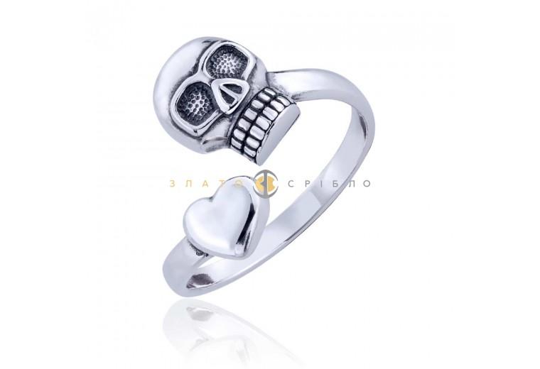 Серебряное кольцо «Готика»