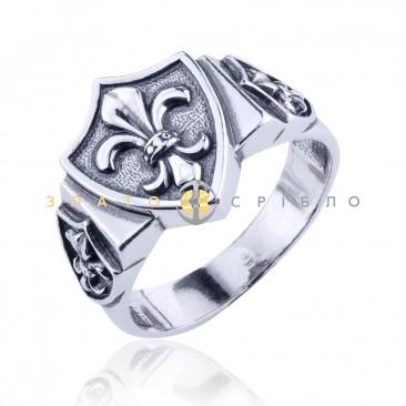Серебряное кольцо «Геральдика»