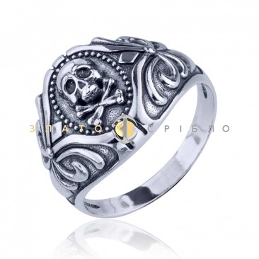 Срібний перстень «Рок фантазія»