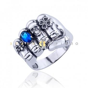 Серебряное кольцо «Сила в правде»