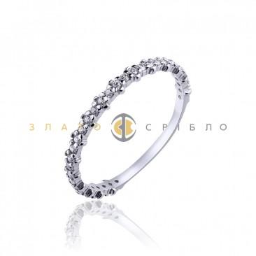 Серебряное кольцо «Flowers»