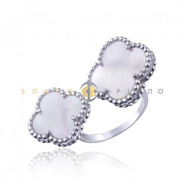 Серебряное кольцо «Аура»