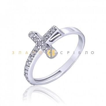 Серебряное кольцо «Гламур»