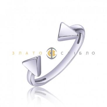 Серебряное кольцо «Vogue»