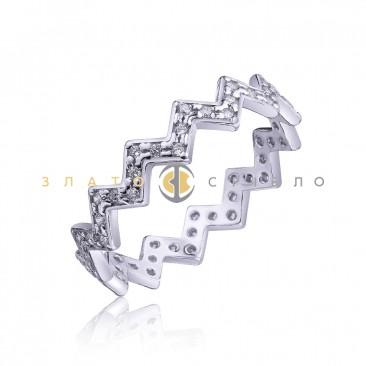 Серебряное кольцо «Алия»
