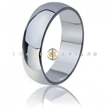 Серебряное кольцо «Обручальное традиционное»