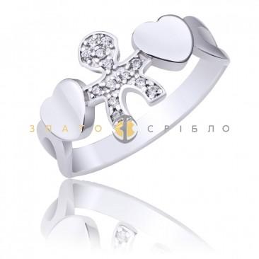Серебряное кольцо «Мой малыш»