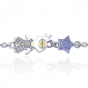 Серебряный браслет «Мой маленький принц»