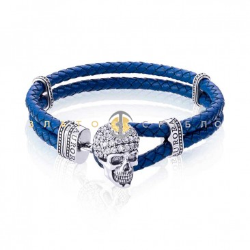 Срібний браслет «Гамлет»