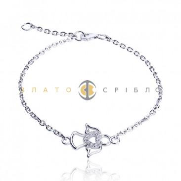 Срібний браслет «День Ангела»