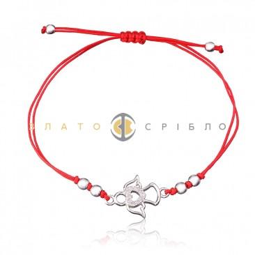 Серебряный браслет «Мой милый ангелочек»