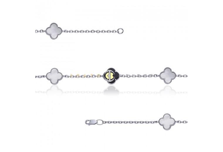 Серебряный браслет «Изысканная элегантность»