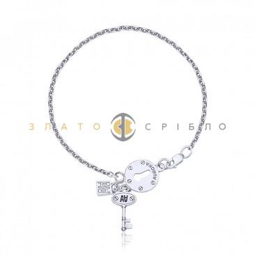 Серебряный браслет «Манящая тайна»
