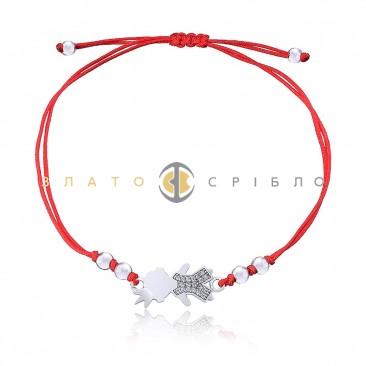 Срібний браслет «Мамине щастя» в интернет-магазине «ЗлатоСрібло» f85cfe58697dd
