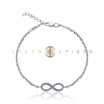 Срібний браслет «Гармонія почуттів»