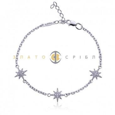 Серебряный браслет «Сириус»