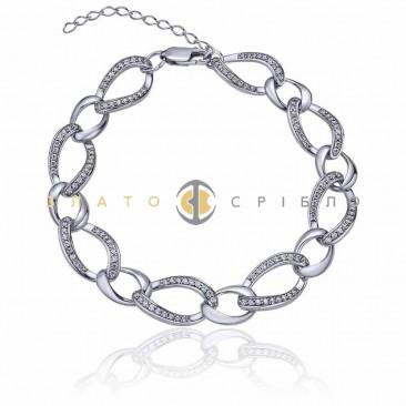 Серебряный браслет «Каталония»