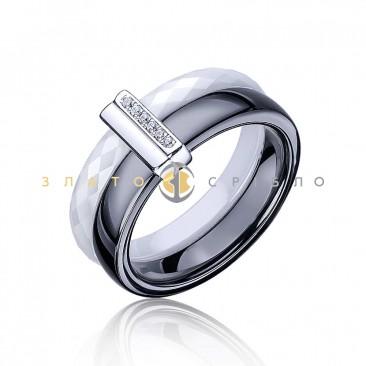 Серебряное кольцо «Кейт» с керамикой