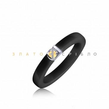 Серебряное кольцо «Марион» с керамикой