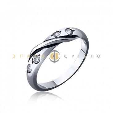 Серебряное кольцо «Дафна»