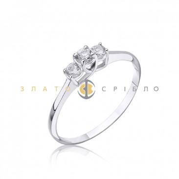 Серебряное кольцо «Притяжение»