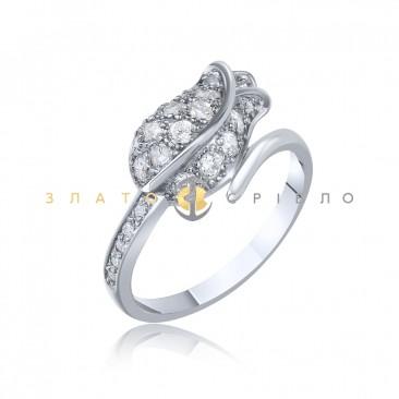 Срібна каблучка «Бутон троянди» в интернет-магазине «ЗлатоСрібло» f7bac93049ae2