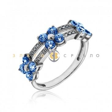 Серебряное кольцо «Вероника»
