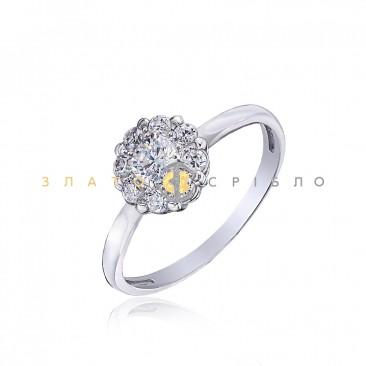 Серебряное кольцо «Нежный вальс»