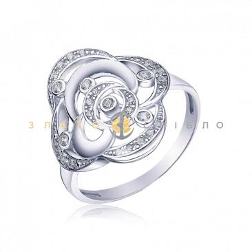 Серебряное кольцо «Богемия»