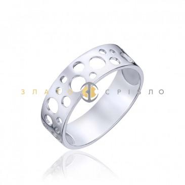 Серебряное кольцо «Дыхание»