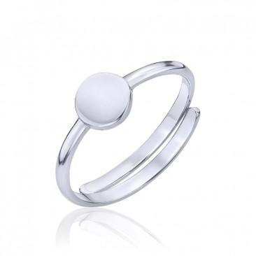 Серебряное кольцо «Иллюзия обмана»