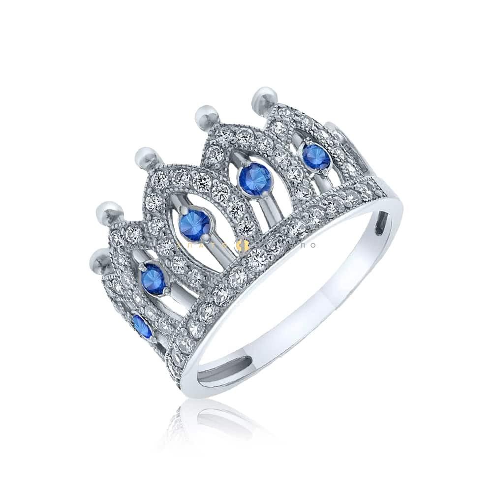 Срібна каблучка «Імператриця» в интернет-магазине «ЗлатоСрібло» 640783eee3137
