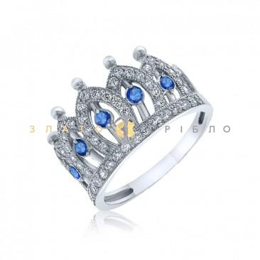 Серебряное кольцо «Императрица»