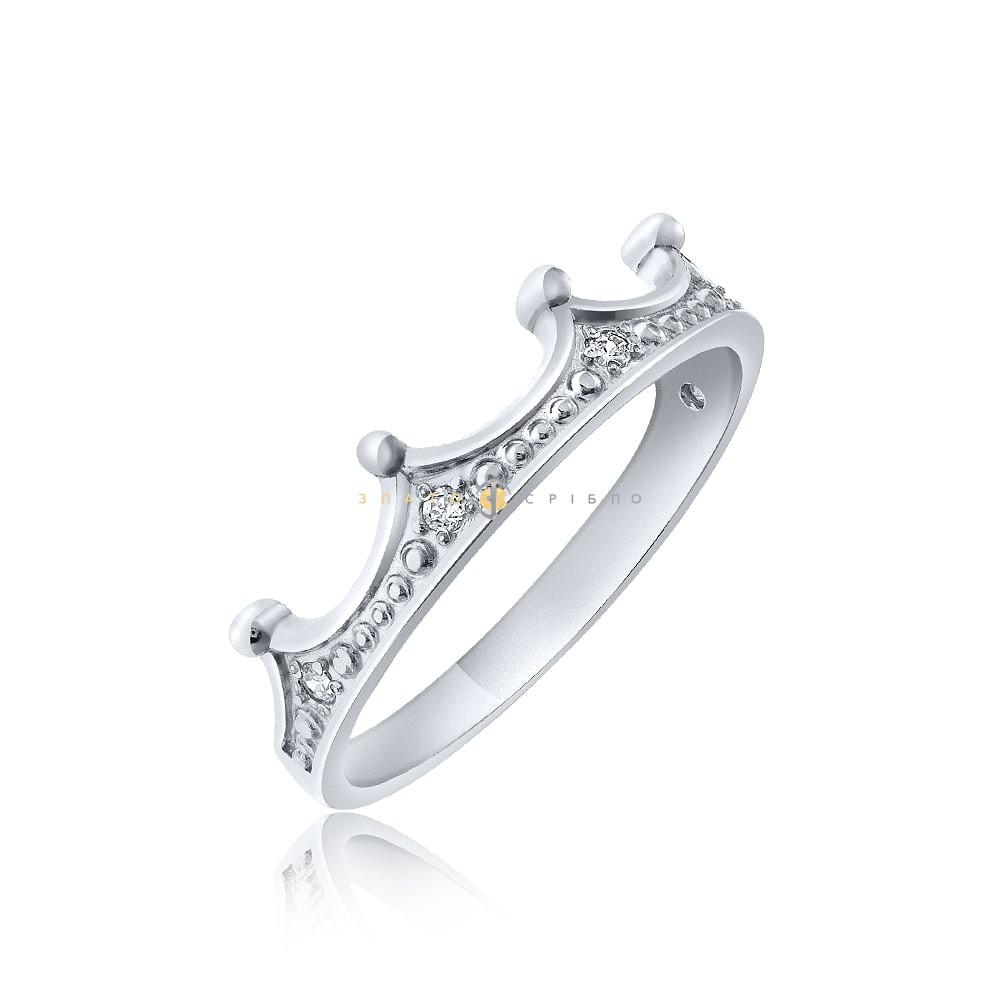 Срібна каблучка «Попелюшка» в интернет-магазине «ЗлатоСрібло» d146b7a1bae3f
