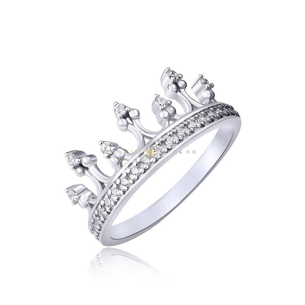 Срібна каблучка «My little Princess» в интернет-магазине «ЗлатоСрібло» 38c93f7656291