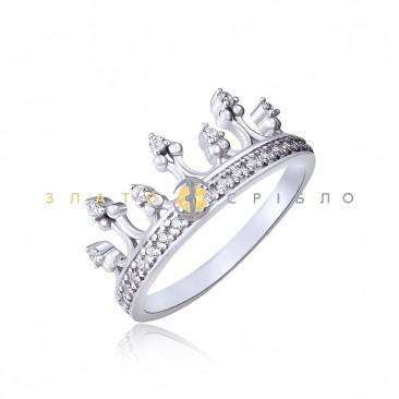 Серебряное кольцо «My little Princess»